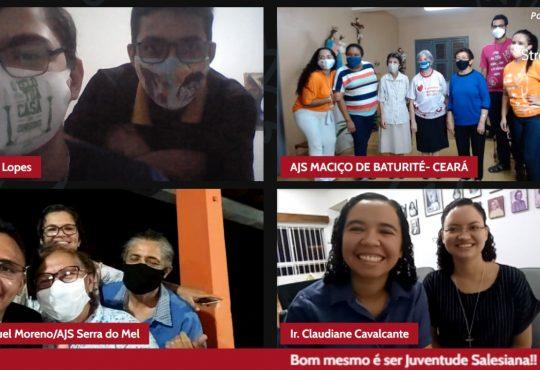 Juventude do Nordeste vivencia a Paixão, morte e ressurreição de Jesus na Páscoa Juvenil Salesiana de forma online